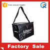 Wholesale laminated pp woven thermal bag/insulated pp woven cooler bag
