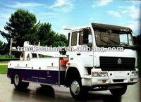 sinotruk howo 4*2 40ton wrecker,recovery truck,tow truck road wrecker truck