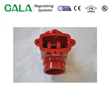 Good motorized and foundry manufacture gate valve body iron casting