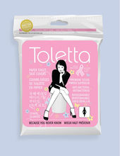 Disposable Paper Toilet Seat Covers by TOLETTA