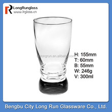 LongRun 2015 hot new product 300ml machine blow cup transparent pint cup