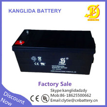 deep cycle agm 12 volts 200 amp gel ups battery