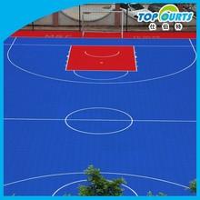High quality long using life basketball court plastic flooring