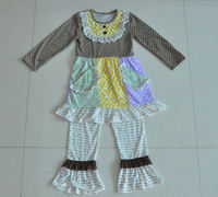 Fall boutique outfits wholesale children clothing kids clothing manufacturers usa remake clothing sets
