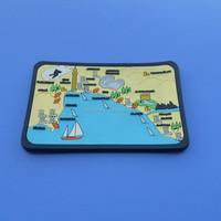 TURKEY country landscape design tourist souvenir fridge magnets 3d pvc fridge magnet for different countries