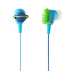 multi-color 3d pvc carton in ear earphones