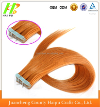 High quality Brazilian hair 100% remy human hair fashion tape in hair extensions