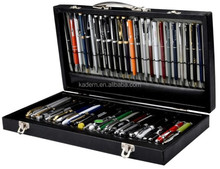 Luxury Pen in a Gift pen box,A lot of pen in a pen box,Hotel pen promotion container box
