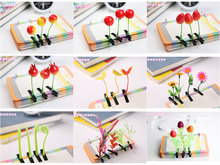 ZOGIFT Small Grass Hair clip for kids 2015 Little Grass Hairpin for girls Green Leaf Hair ornament wholesale