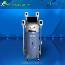 four handle cryolipolysis cavitation rf vacuum on sale
