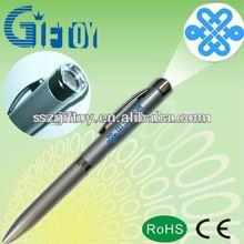 print logo LED projector ballpoint pen