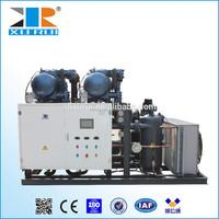 Multiple refrigeration condensing unit for cold storage with Dorin compressor