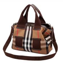 Fashion canvas women tote handbag