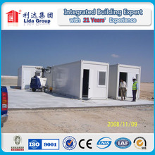 Easy disassemble and assemble container house/mobile home