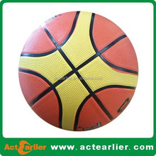 cheap customized design rubber basketball