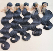 top quality tangle free hair weft crochet braids with human hair wholesale price