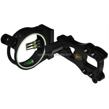 JX1550 Scopes, five pin optical bow sight, accurate, bow sight, hunting gear