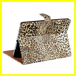 PU Leather Case For Apple iPad Mini 5/4/3/2 air Protector Leopard Skin Folding Folio Case Cover Wholesale Best Quality and Price