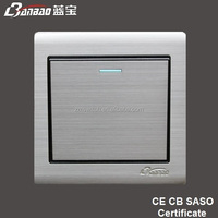 stainless steel panel 20A double pole water heater switch