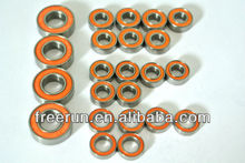High Performance TAMIYA LAFA ROMEO SPRINT GTA FF-02 steel bearing kits with different rubber seal color