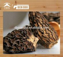 dried food / black fungus in bag Dried Morel Morchella conica