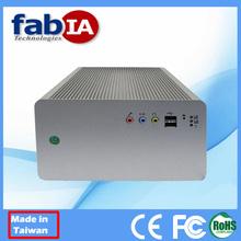 Fanless Atom D525 PCI Wifi Rugged Computer
