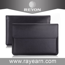 pu notebook with factory price Protective Leather Case for Macbook Air
