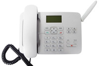 GSM &PSTN RJ11 sim card land phone KT1000(162)