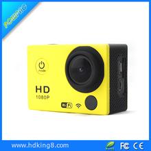 Latest Sport Camera Sj4000 Wifi Action Camera 1.5inch LCD Full hd 1080p 30M waterproof Camera PC Camara 170 Angel
