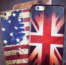 2015 Mobile Phone Case Old Country Flag Back Hard Cover Case For Iphone 4 4s, For Iphone Case 4s 5s 6
