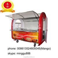 Minggu 2015 Snacks/vending/food/machine/carts/trucks/CE