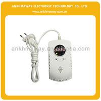 AC220V Standalone LCD Kitchen Gas Leak Detector PIR Sensor