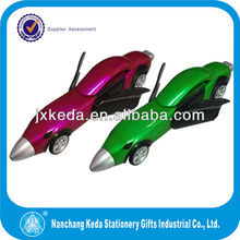 promotional joy race car shape ball pen
