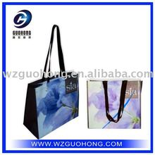 Eco-friendly PP woven shopping tote