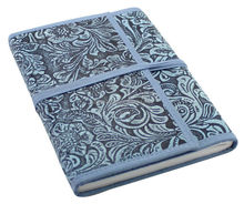 loose leaf leather journal diary notebook