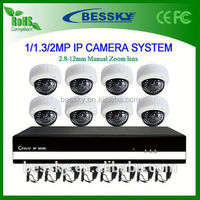 8CH IP camera NVR Kit,outdoor wireless wifi hd ip security camera,high focus cctv camera manual