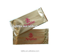 foil OEM individually airline package wet towel/tissues /napkins/wipes