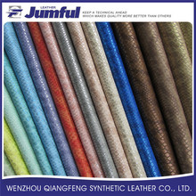 PU shoe lining material full grain leather