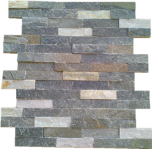 cultured and stacked slate