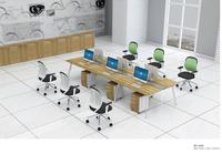 BT-246 Modern Steel Leg Office Workstation for Six Person