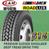 Chinese famous brand, Roadlux Tires, 11r24.5 truck tires