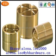 Custom copper bushing,electric motor bronze bushing ISO9001 Passed