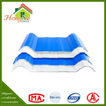 Best selling products 3 layer long term color stability plastic roof shingle good quality