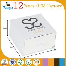 Gift packaging slide cardboard box for jewelry Trade Assurance