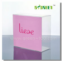 PVC APET PP Packaging Plastic Box for Gift with Silk-screen Printing