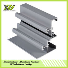 Powder coating aluminum profiles for windows and doors