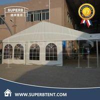PVC event cheap white Nigeria marquee wedding outdoor event 20 x 20 canopy tent for Sale