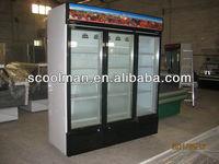 Vertical freezer /freezer/refrigerator for ice cream,frozen food