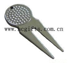 2015 Blank custom divot tools/high quality zinc alloy golf items for wholesale