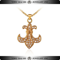 Sunshine wholesale magnetic fashion jewelry manly necklace crystal statement cheap necklace pendants